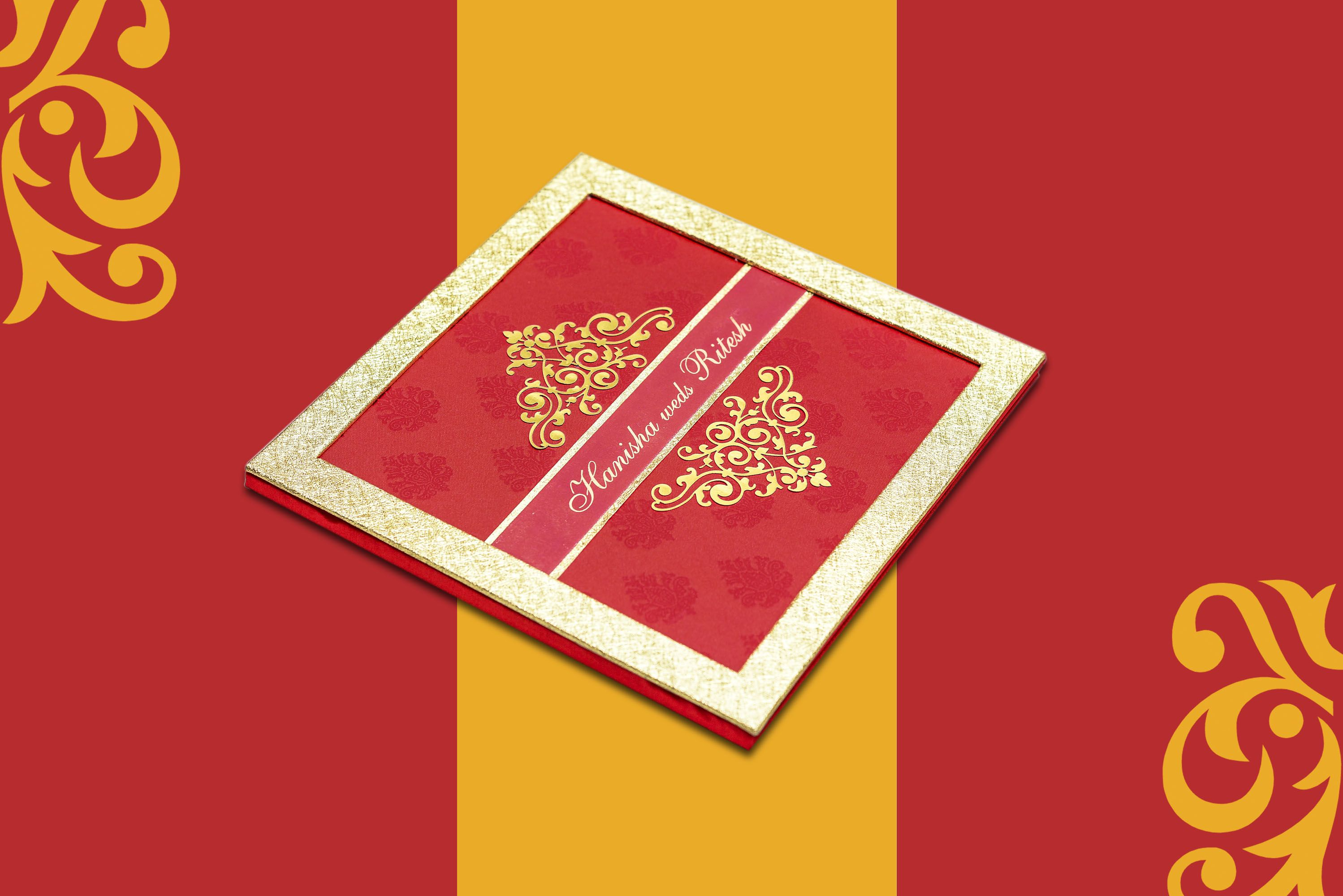 Indian #wedding #cards with beautiful designs | Muslim wedding cards ...