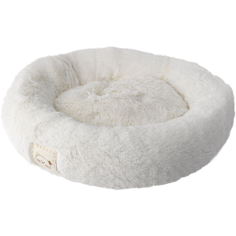 Precious Paws Anti Slip Circular Cat Bed Soft Pet Face