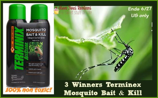 Terminex Allclear Non Toxic Mosquito Bait Kill 3 Winners Us Only Ends 6 27 Kill Mosquitos Mosquito Mosquito Control