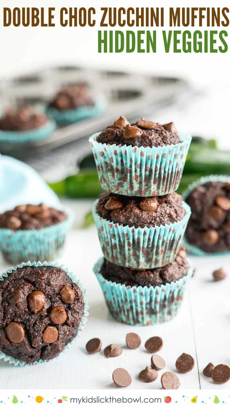 Muffins Double Chocolate Grain Free Double Chocolate Zucchini Muffins a hidden veggie recipe perfect for kids and picky eaters, these muffins are healthy snacksDouble Chocolate Zucchini Muffins a hidden veggie recipe perfect for kids and picky eaters, these muffins are healthy snacks