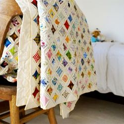 Quilt love. I own 2 vintage cathedral window quilts. Need to make ... : cathedral window rag quilt - Adamdwight.com