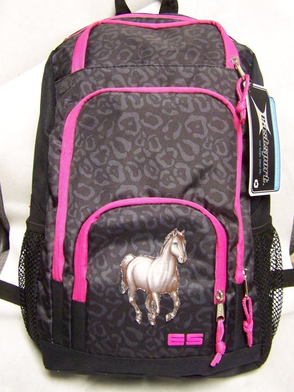horse backpacks | NWT Girl~Quality BACKPACK w/ HORSES Western ...