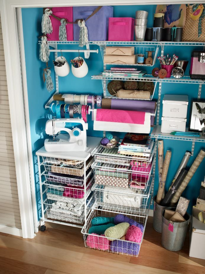 Perfect Wire Closet Shelving Systems Model - Wiring Ideas For New ...
