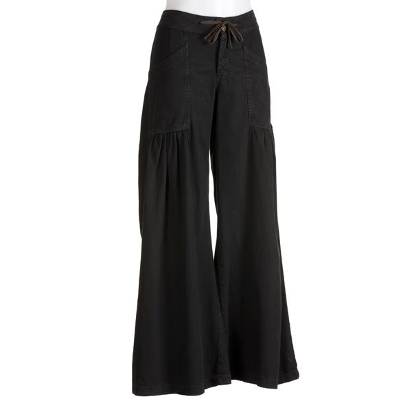 Womens wide leg pants for lymphedema near the from