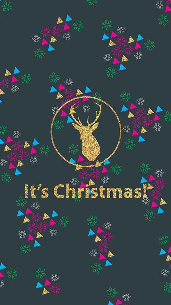 クリスマス おしゃれなキラキラロゴ 画像あり クリスマス壁紙
