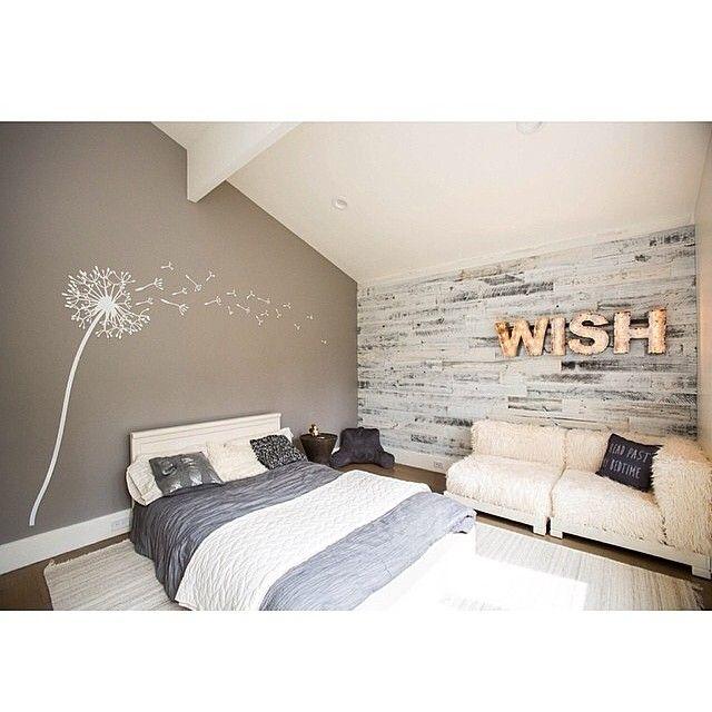 Diy Easy Peel Stick Wood Wall Decor Bedroom Interior Bedroom