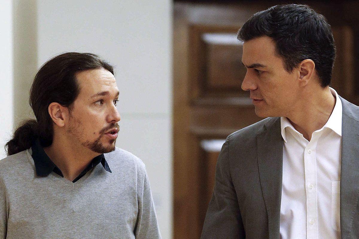 El 'no' de Podemos a Sánchez puede hacer caer a Carmena, Colau y Kichi
