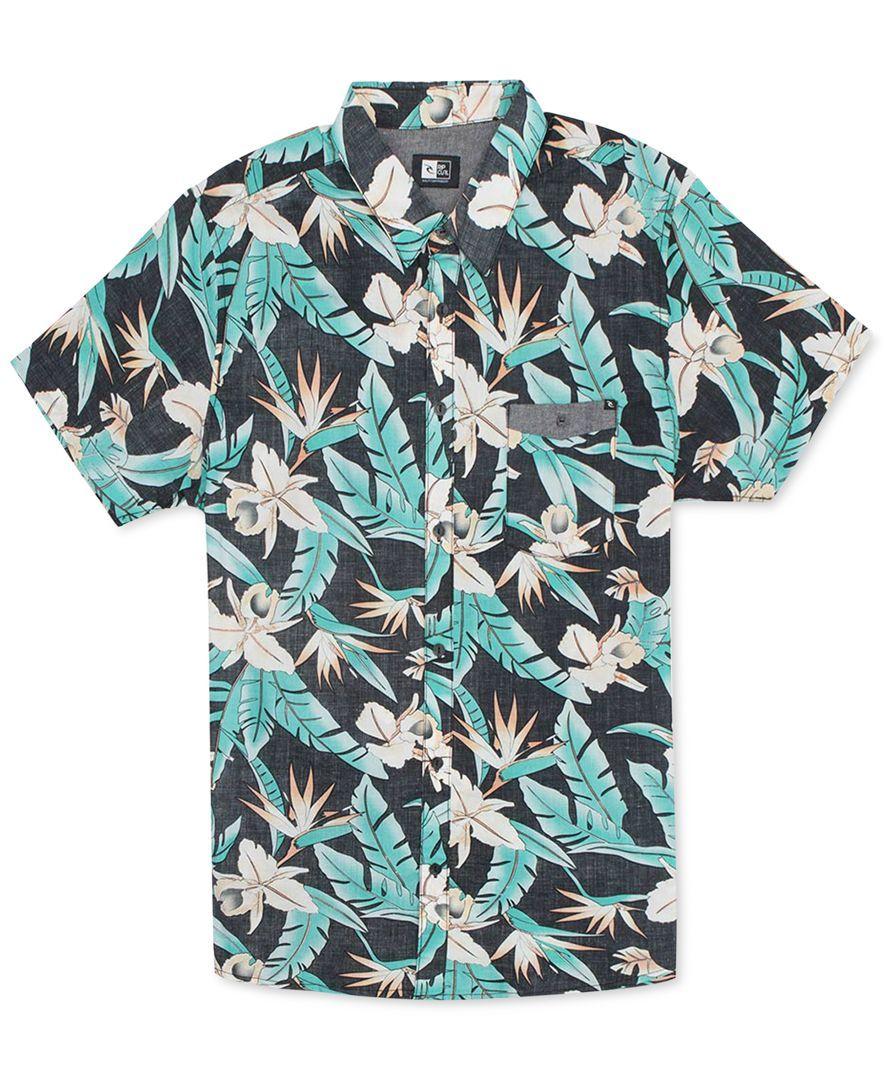RipCurl Short-Sleeve Ventura Floral Shirt