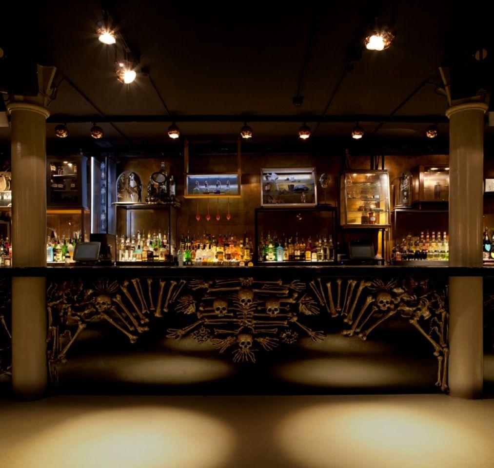 Jimmywoo Interior Design Nightclub Amsterdam Skulls