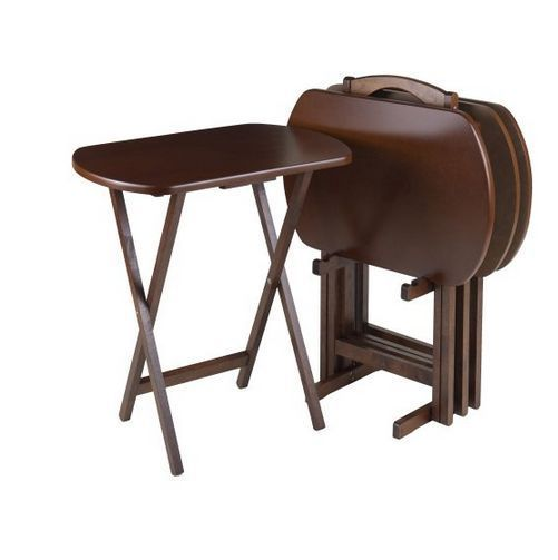 Dark Wood Tone Tables | EBay