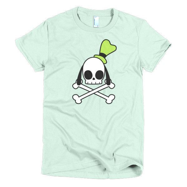 Goofy Crossbones Short sleeve women's t-shirt