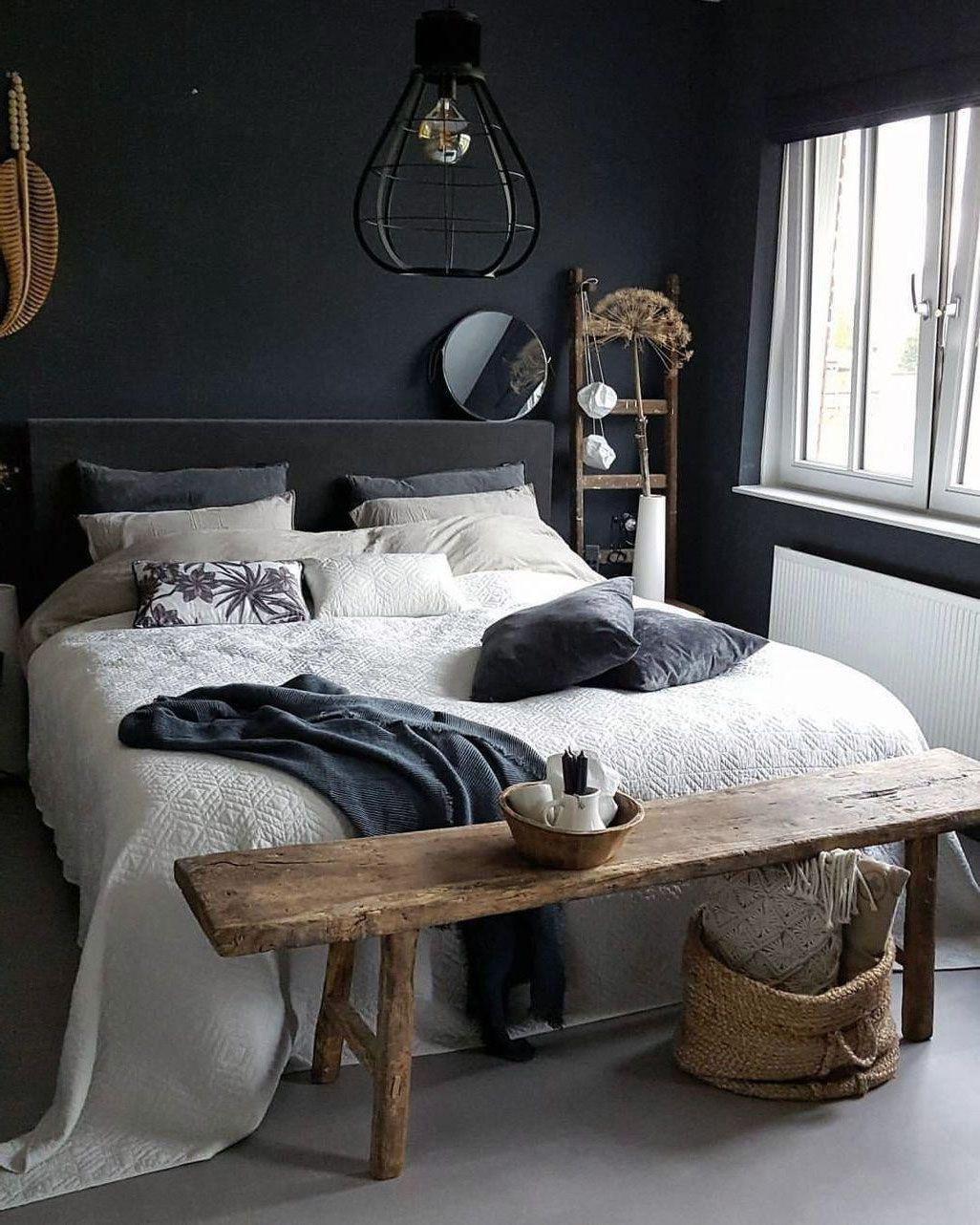 24 Dark Scheme For Scandinavian Interior Bedroom Have More Astonishing 24 Dark Schem Be In 2020 Scandinavian Interior Bedroom Bedroom Interior Mens Bedroom Decor