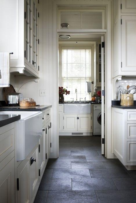 Gil Schaefer Miles Redd Corbels Slate Floor Kitchen Slate Kitchen Kitchen Floor Tile