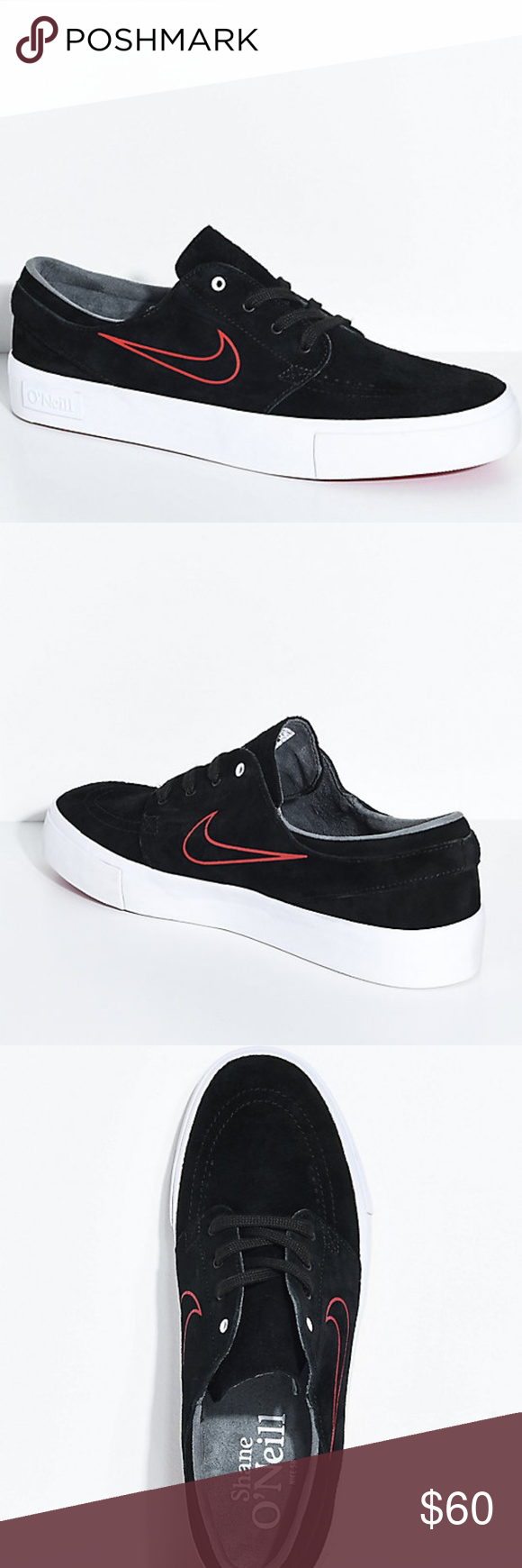 64fc8ba319c9 New Nike SB Janoski High Tape O Neill Black Shoes Graced with the gift of
