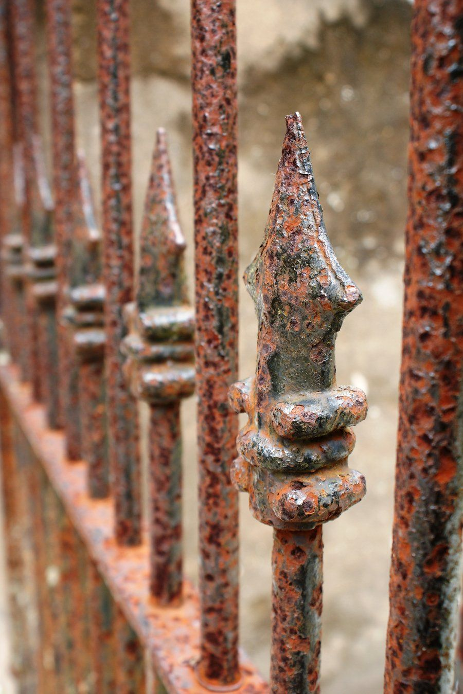 rusty fence google search pinterest iron rust and google search. Black Bedroom Furniture Sets. Home Design Ideas