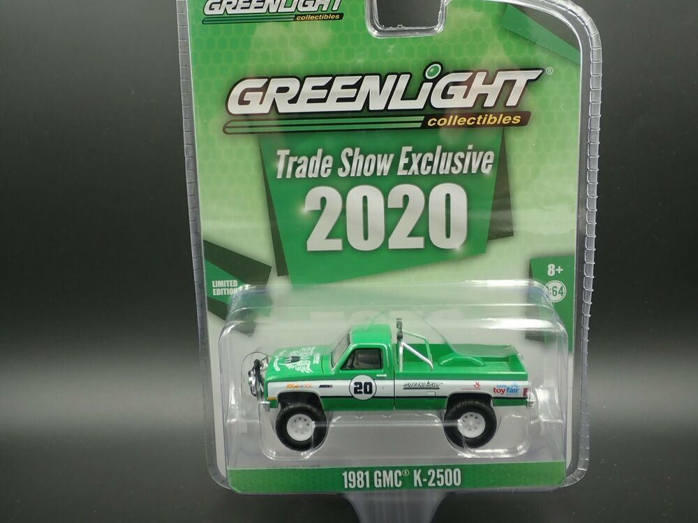 Details about GREENLIGHT 1981 GMC K2500 2020 TRADE SHOW