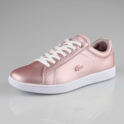 2aceb424271 Tenis Lacoste Carnaby Evo Mujer