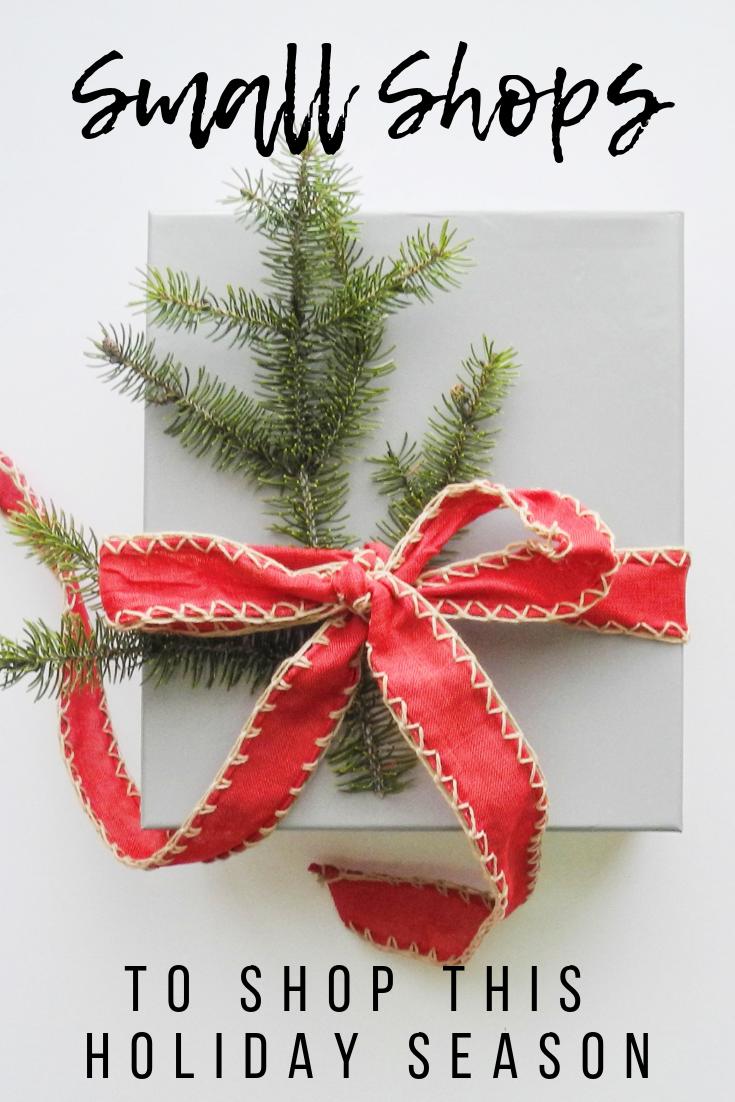 8 Small Shops To Shop This Holiday Season Holiday