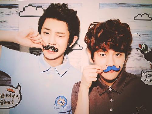 I mustache you question: Do you ship Baekyeol as much as I do?