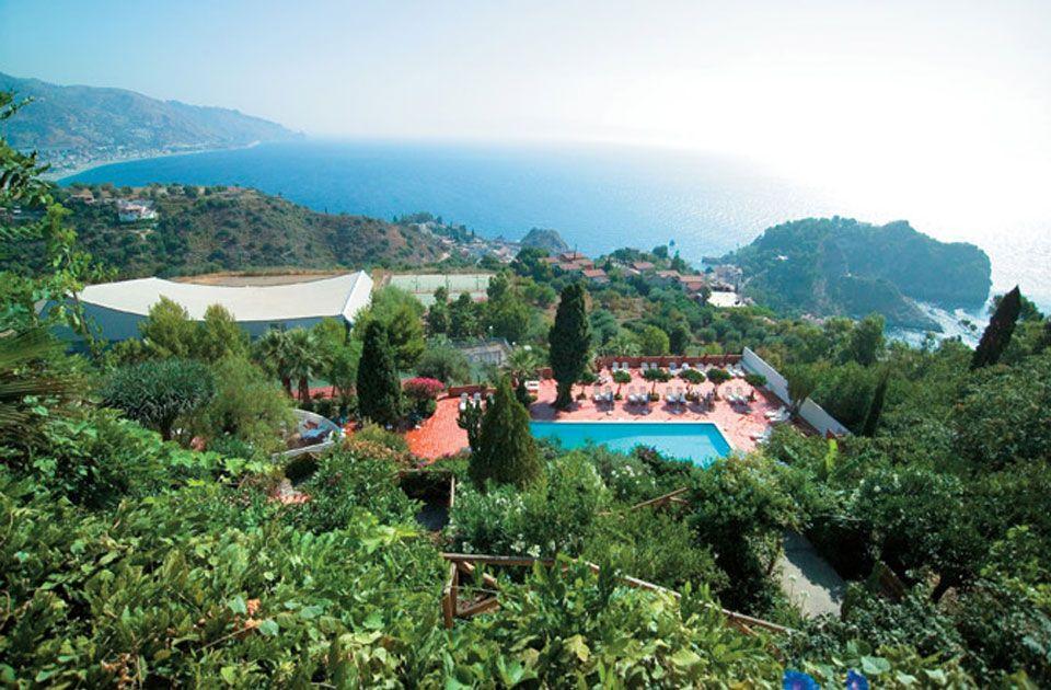 Grand Hotel Miramare(Taormina) Posizione Il Grand Hotel