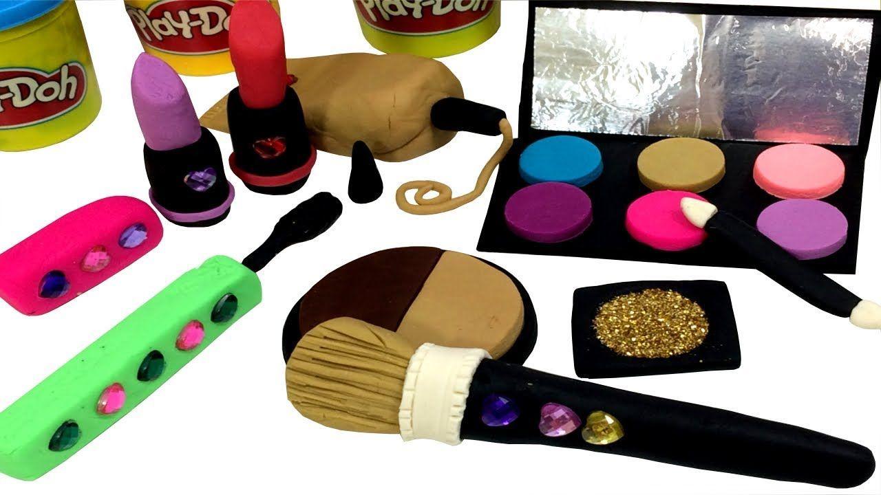 Play Doh MakeUp Set Cosmetics For Kids Craft Review