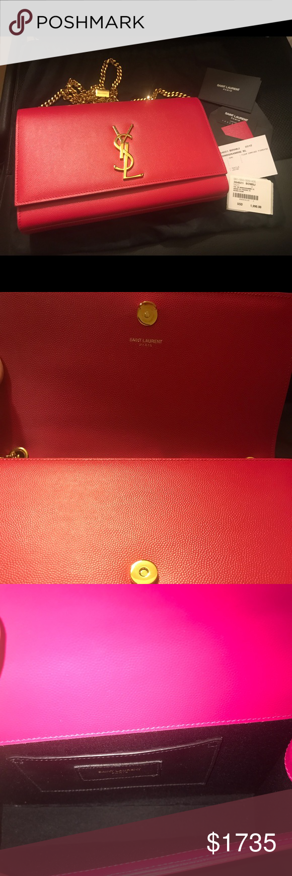 6750afde New authentic YSL Bo Monogramme SL NWT | My Posh Picks | Fashion ...