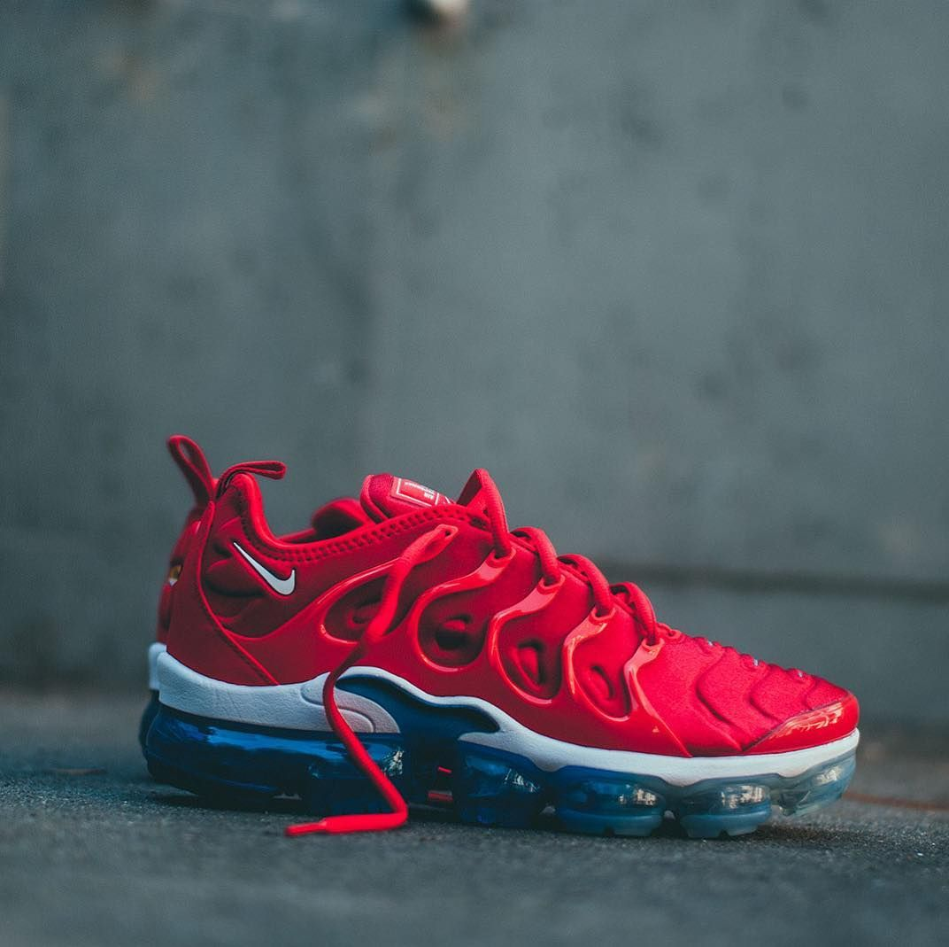 reputable site c443c 70447 nike air vapormax plus university red available in-store and ...