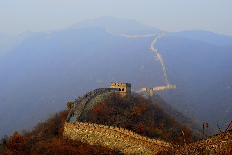 The Great Wall 1 1/2 hours from Beijing
