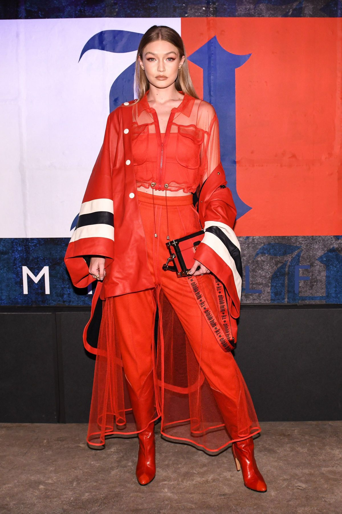 d3eabbf2975 Gigi Hadid at Tommy Hilfiger x Lewis Hamilton Launch Party in New York  09 10 2018.  gigihadid  tommyhilfiger  summerstyle  celebrity  fashion   clothing ...