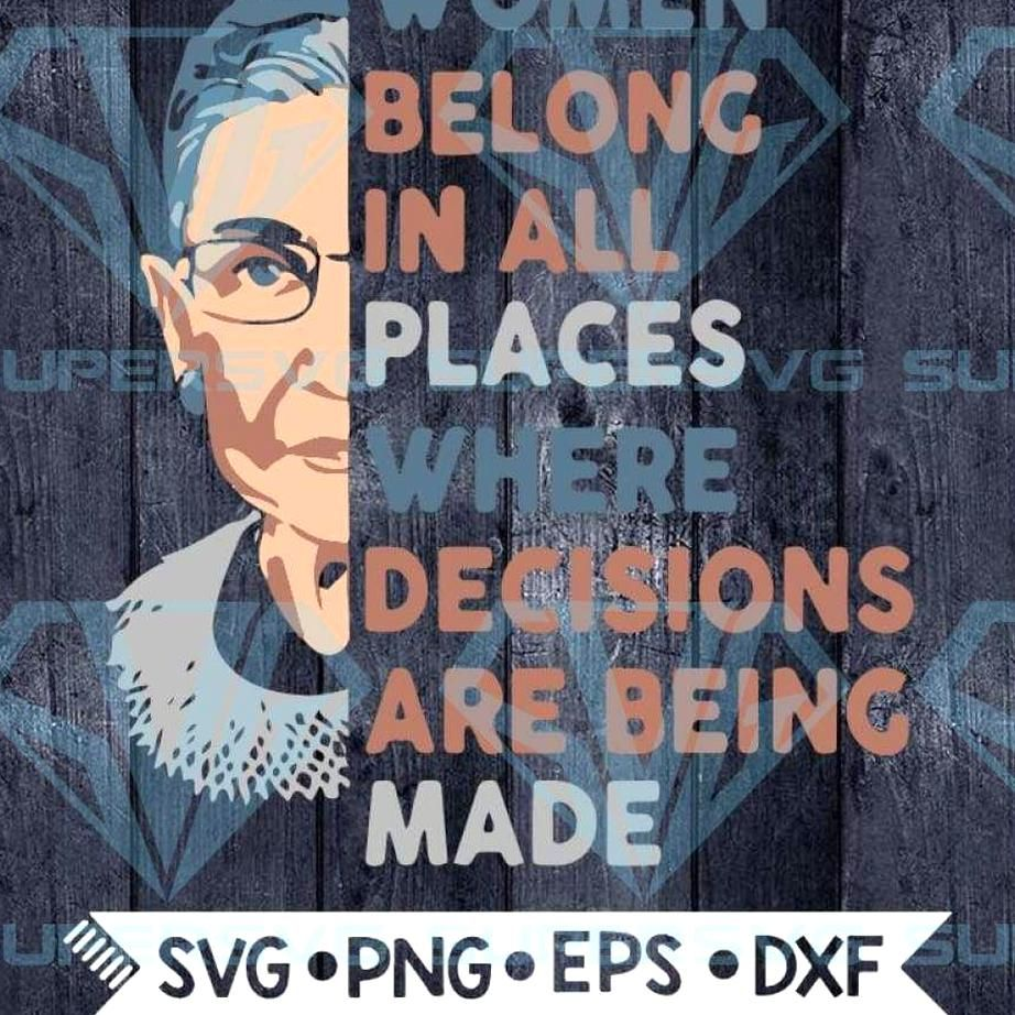 Notorious RBG Svg Fight for the things that you care about