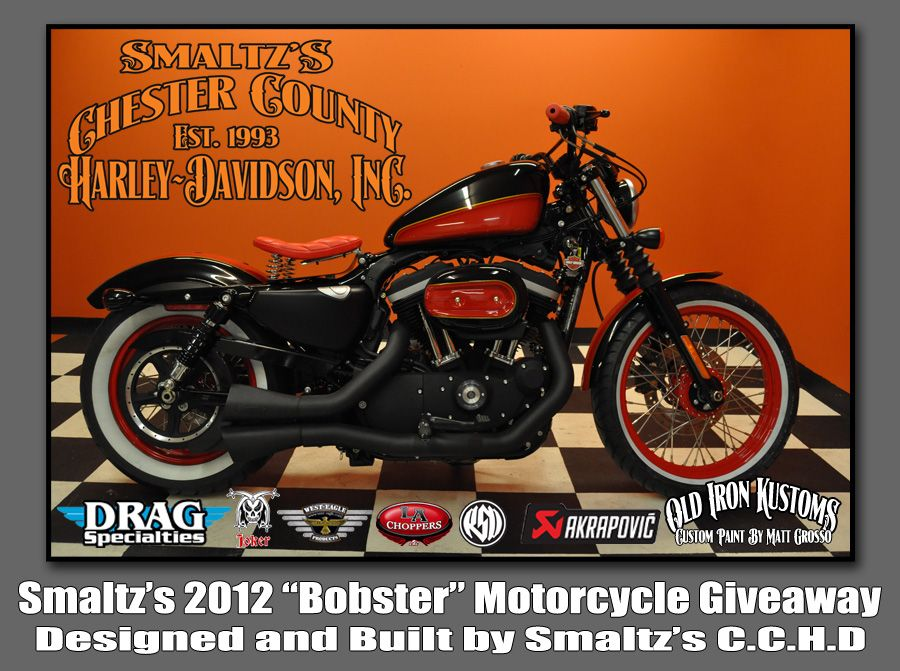Smaltz's 2012 Bobster.  The prize in this HD dealer giveaway.