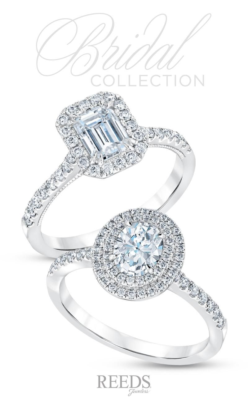 A brilliant halo diamond engagement ring is a truly breathtaking symbol of commitment.