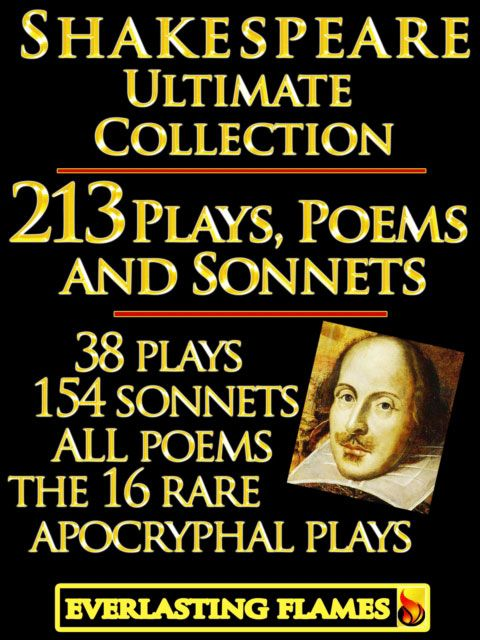 william shakespeare plays and poems
