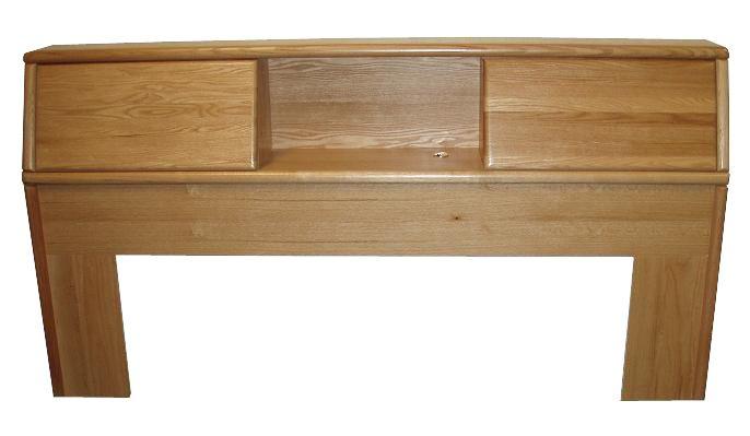 FD3014 Contemporary Oak Bookcase Headboard ECal King size – Bookcase Headboards for King Size Beds