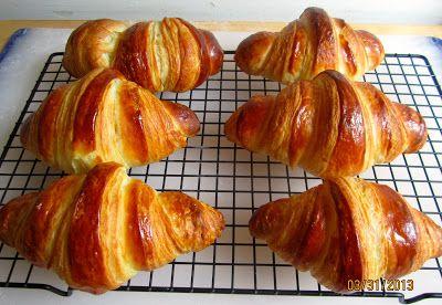 Croissants au beurre 1