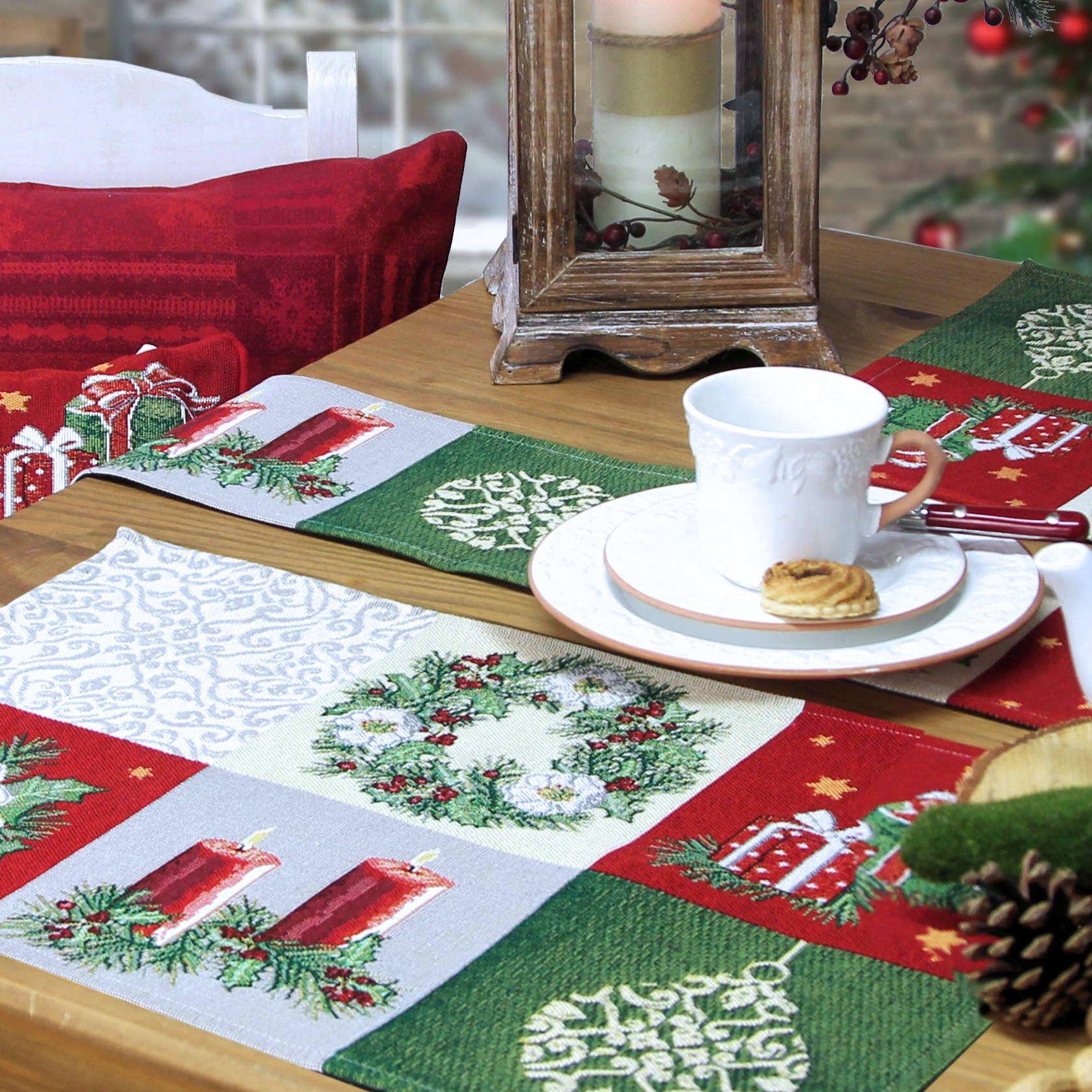 Weihnachtstischsets www.sander-tischwaesche.de/index.php?cPath=83 ...