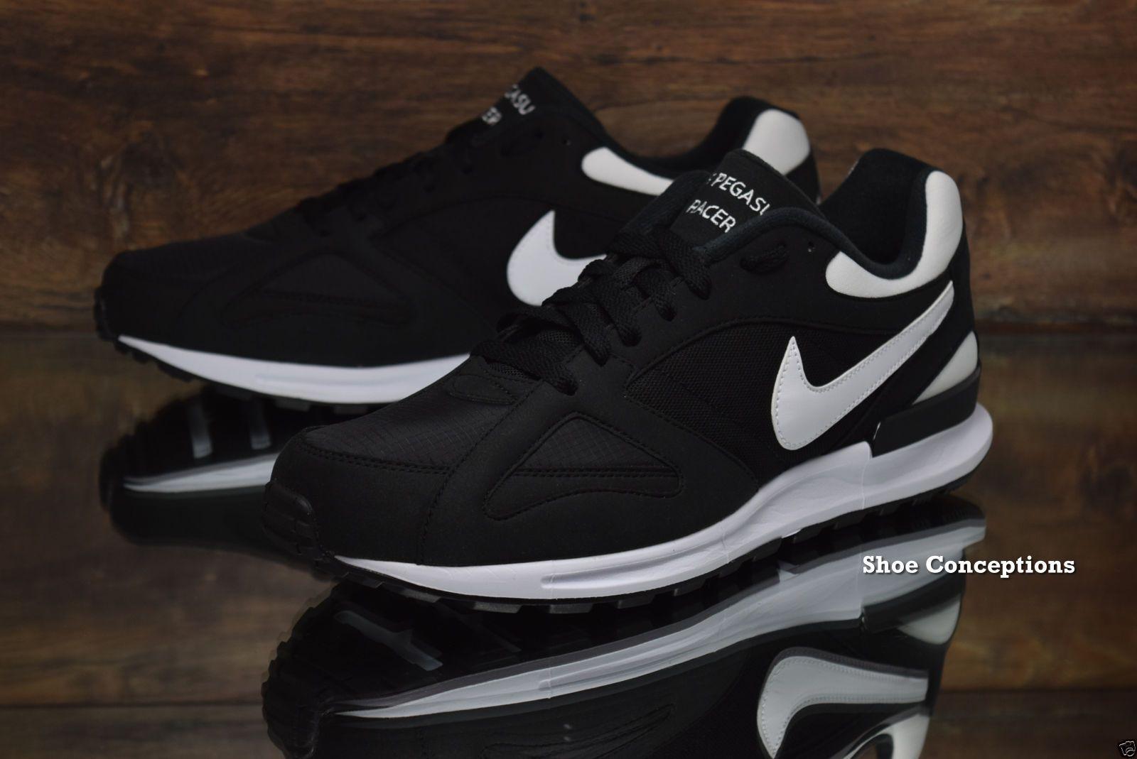 af630707f5711 Nike Air Pegasus New Racer Black White 705172-001 NEW Mens Shoes Multi Size