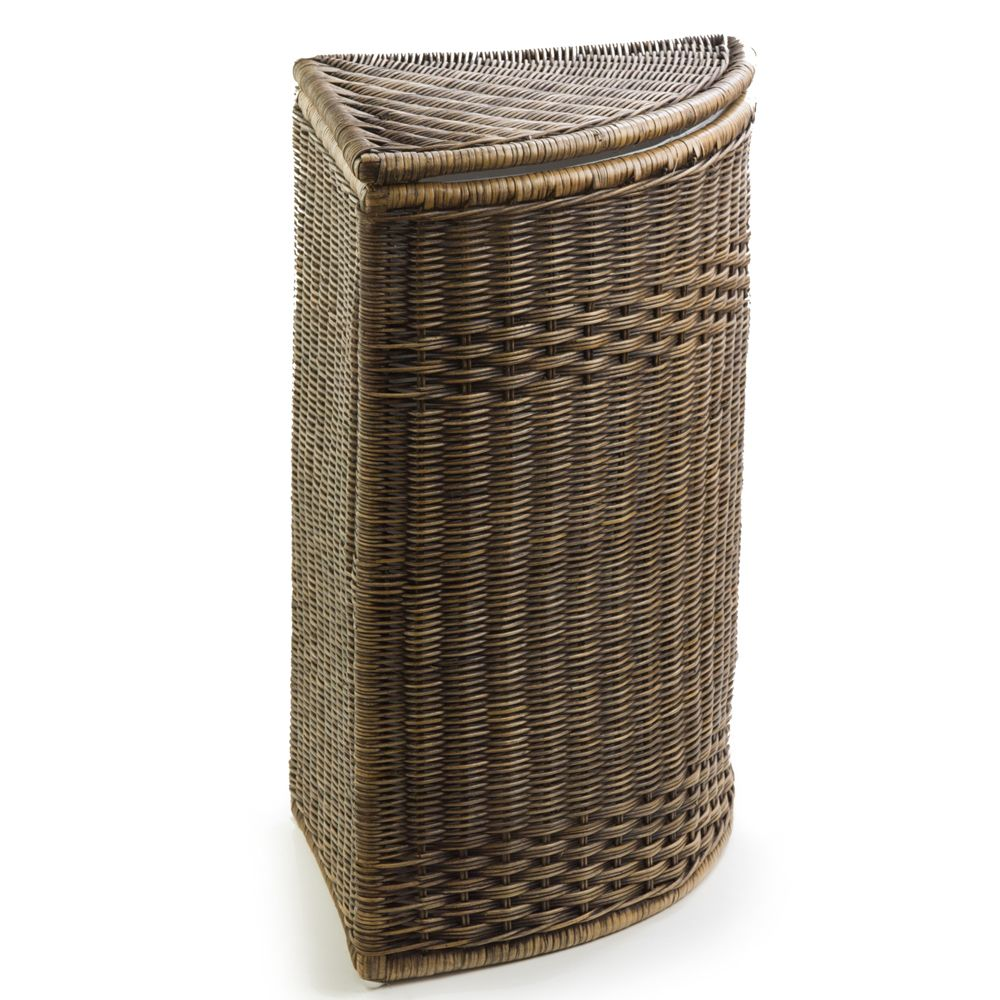 Beautiful Corner Wicker Hampers The Basket Lady Laundry Hamper