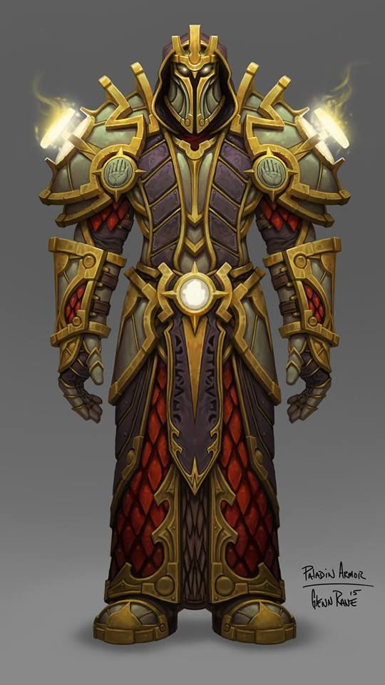 Pin by Ian Jacobson on Character Design in 2019 | World of warcraft paladin, Warcraft art ...