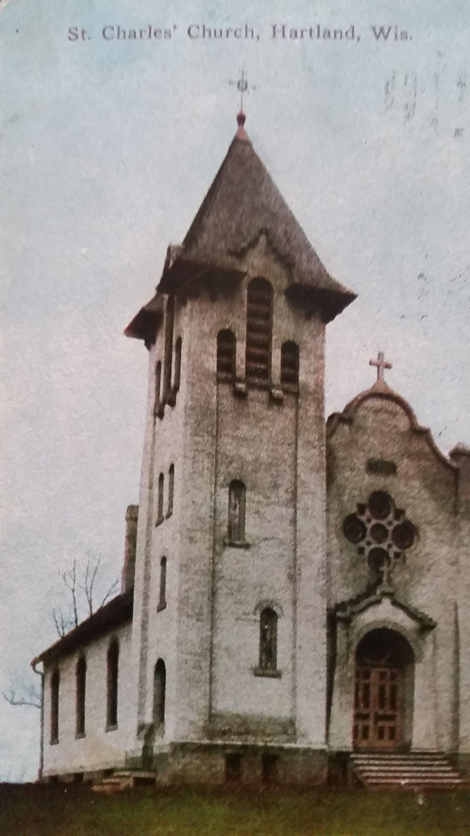 St Charles Catholic Church In Hartland Wi Hartland Wisconsin