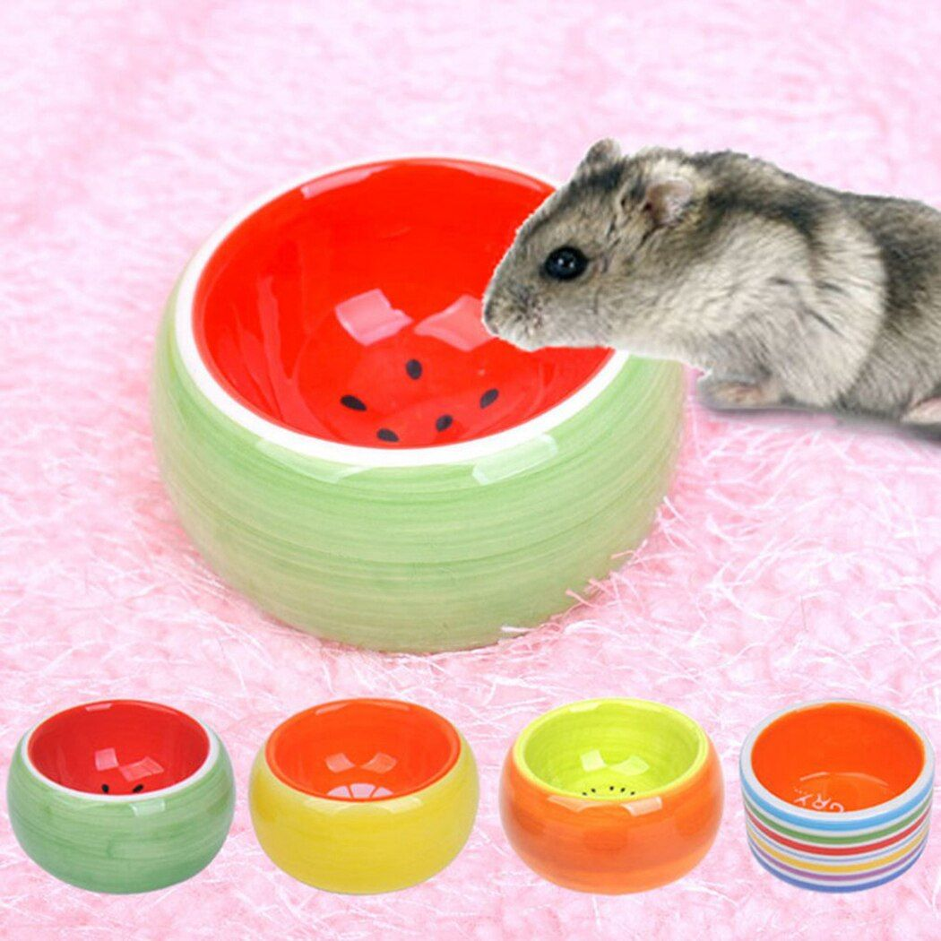 1Pc Creative Cute Fruit Pattern Bowl Small Pet Ceramic