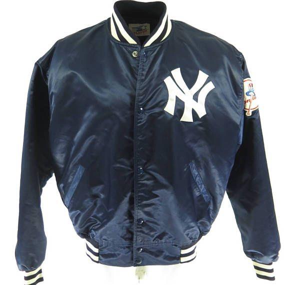 fb575126d Vintage 80s New York Yankees Starter Jacket Mens XL / XXL MLB ...