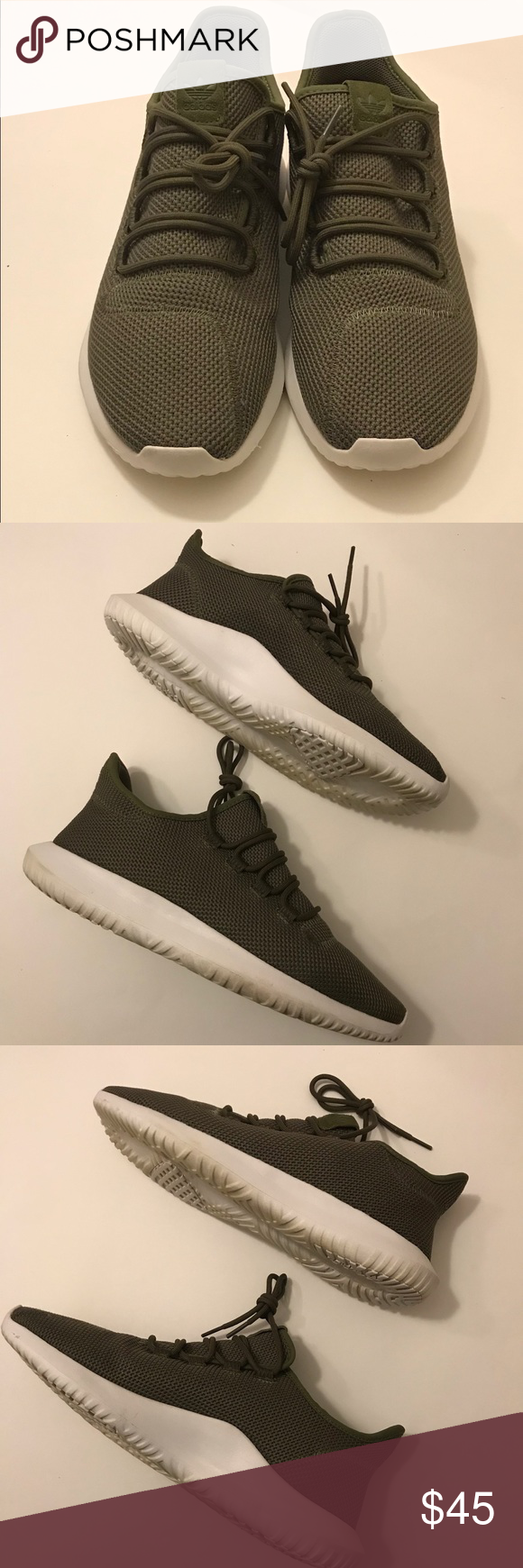 new products 48292 f3c06 Men's size 12 Adidas Tubular Shadow Men's Olive Green and ...