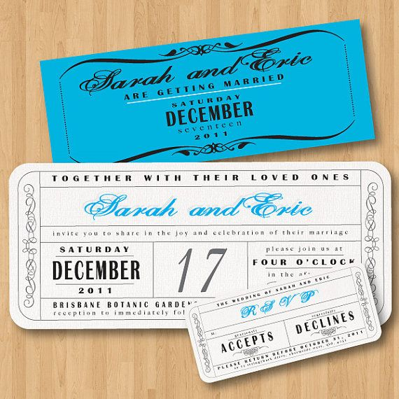 ticket invites Wedding Pinterest Debut ideas Wedding and Weddings