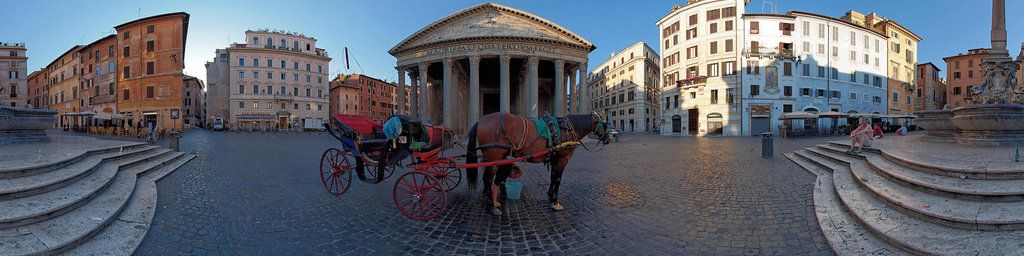 Early morning at Pantheon place