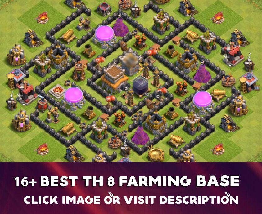 Coc Th 8 Farming Base 2019 2