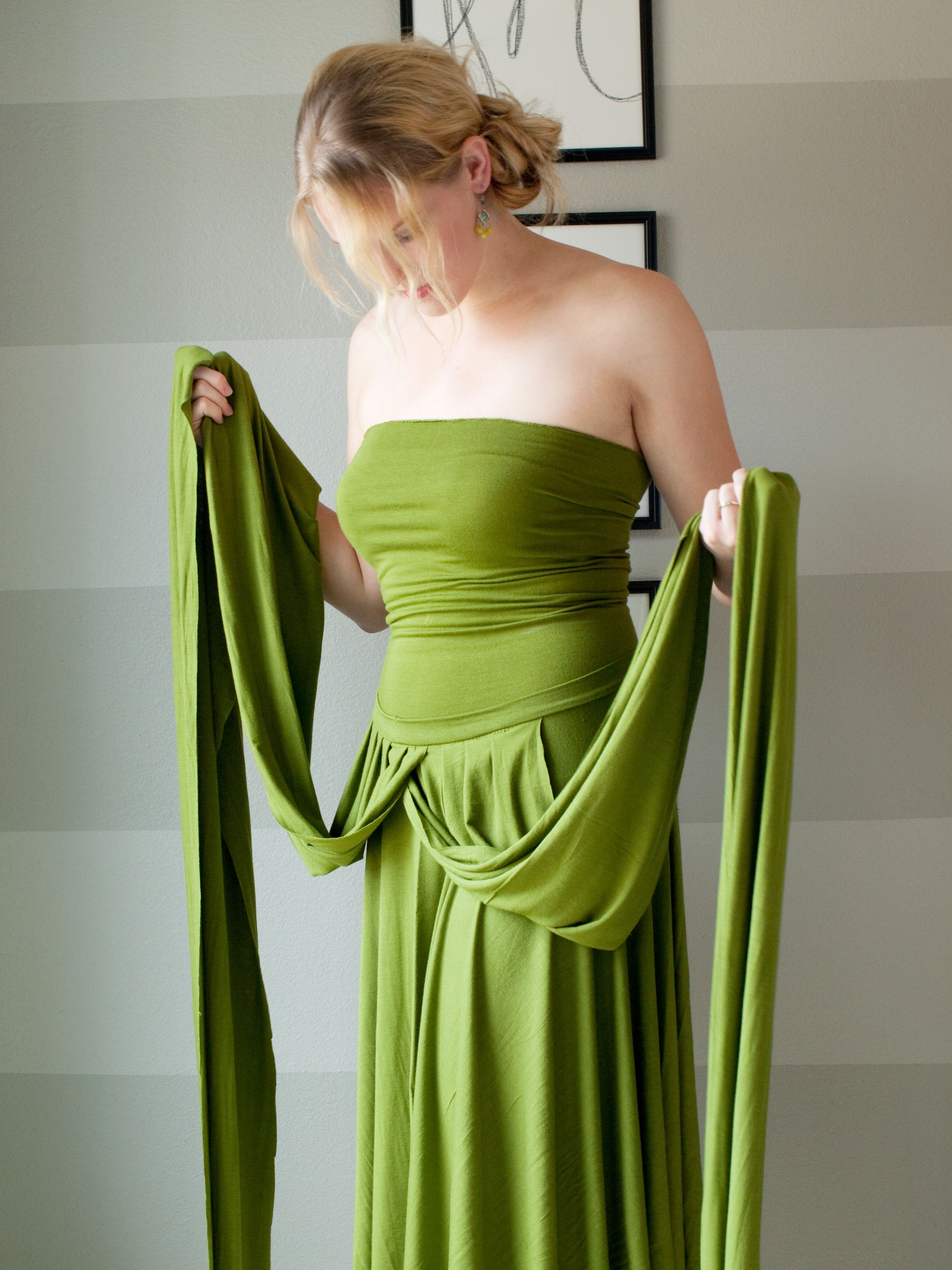 How To Make An Infinity Wrap Dress This Will Blow Your Mind