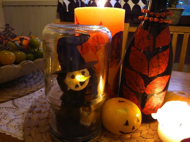 M'made Diy: Funny witch, Halloween craft