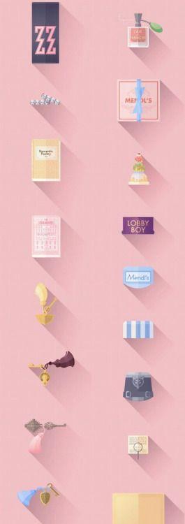 jeongahkim3026:  We Heart It의 이미지 https://weheartit.com/entry/145365789/via/11334239 #art #background #cute #pink #wallpaper #thegrandbudapesthotel #mendls