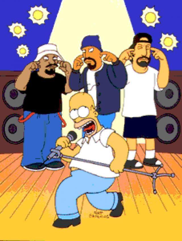 Cypress Hill Homer Simpson Grafiti Urbano Homero Simpson Cypress Hill